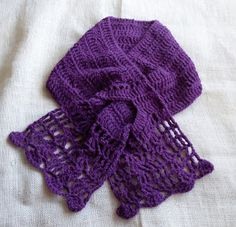 Free Crochet Pattern for Mountain Orchid Scarf...so pretty, love this color!