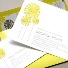 New from @Luscious Verde Cards in gorgeous yellow