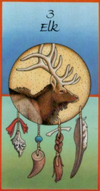 Elk... Your antlers reach for the sun, Show me that strength and stamina are one. (STAMINA)