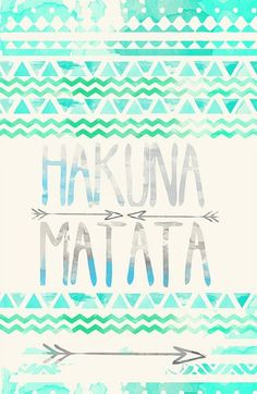 It means no worries for the rest of your day!