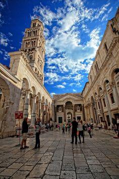 Croatia Split Diocletian's Palace by WenMin Tseng on 500px