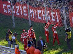 Michael Schumacher - Monza 29/10/2006