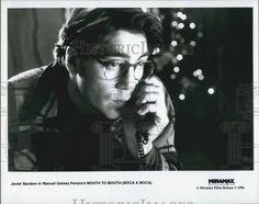 """1996 Press Photo Actor Javier Bardem in Spanish Film """"Boca A Boca"""""""