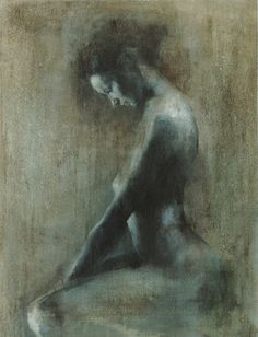 "Saatchi Online Artist Patrick Palmer; Painting, ""'Looking Down' - LIMITED EDITION GICLEE PRINT 6 of 20"" #art"