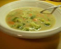 Jemná brokolicová polievka Cheeseburger Chowder, Food And Drink, Soup, Soups