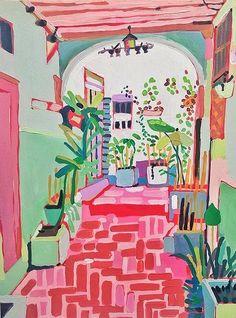 Artist Spotlight Series: Kimia Kline - The English Room Art And Illustration, Illustration Inspiration, Illustrations, Painting Inspiration, Art Inspo, Kunst Inspo, Cute Art, Painting & Drawing, Modern Art
