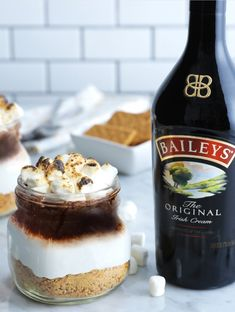 Baileys S'mores Marshmallows Recipe Baileys Recipes, Marshmallow Treats, Recipes With Marshmallows, Smoothie Drinks, Smoothies, Recipe Details, Homemade Ice Cream, Ice Cream Recipes, Sweet Tooth