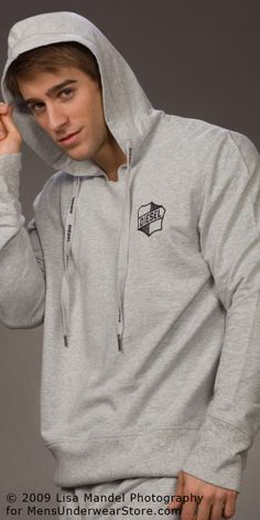Luke Guldan by Lisa Mandel for Men's Underwear Store (2009) #LukeGuldan #LisaMandel #MensUnderwearStore #underwear #briefs #muscles #bodybuilding #malemodel #model #fitnessmodel #fitness #Wilhelmina #WilhelminaModel #diesel #hood #hoodie