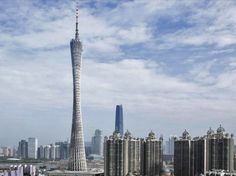 The Canton Tower, Guangzhou is now the tallest building in China | designed by Information Based Architecture (IBA) and engineered by Arup