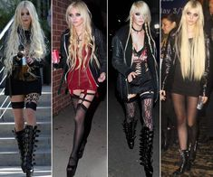Taylor Momsen ✾ of The Pretty Reckless 2015 Estilo Taylor Momsen, Taylor Momsen Style, Pretty Reckless, Estilo Rock, It Bag, Steam Punk, Taylor Monsen, Jenny Humphrey, Gossip Girl Fashion