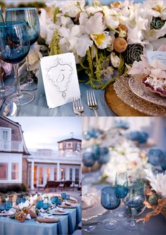 Beach Chic Wedding Decor - Belle the Magazine . The Wedding Blog For The Sophisticated Bride