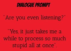 dialogue prompt totally something I can see Peter saying to Edward writing inspiration writing prompt dialogue