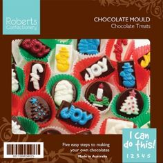ROBERTS CHRISTMAS TREATS CHOCOLATE MOULD