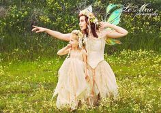 Short Pixie Fairy Style Adults Dress in Silk Custom Color Size. $575.00, via Etsy.