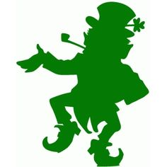 This easy one cut Leprechaun can help bring the luck of the Irish to anything! Silhouette Cameo Projects, Silhouette Design, Silhouette Images, Leprechaun, St Patricks Day Cards, Saint Patricks, St Patrick's Day Decorations, St Patrick Day Shirts, St Paddys Day