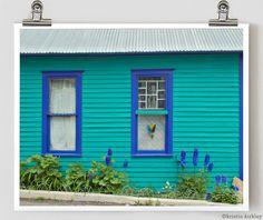 "Turquoise House Telluride Colorado Fine Art Photograph 8"" x 10""  Etsy Shop  JenniferLynnPhotos  Capturing Nature through Photographs"