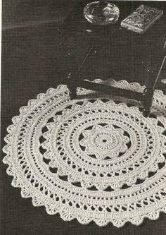 star crochet doily pattern | Round Crochet Doily Pattern » Modern Crochet Patterns