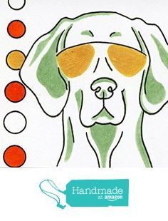 Weimaraner Dog ACEO Art from Clarity Art & Design http://www.amazon.com/dp/B015NIJFLI/ref=hnd_sw_r_pi_dp_YK7gwb156PEWD #handmadeatamazon