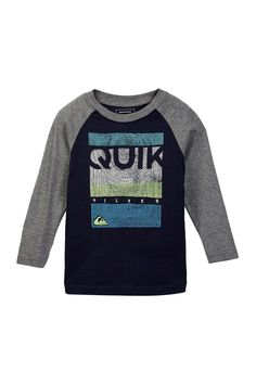 Quiksilver Toddler Boys 4T Short Sleeve Navy Blue Tee T-Shirt Cotton Dotty NWT