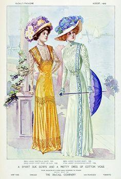 1909 dresses