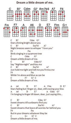 """""""Dream a little dream of me"""": songs to sing to my little Bug"""