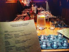 Great night of fantastic rare bourbon and BBQ tasting. Thank you...