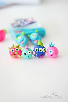 Friendly Monster Earrings-Craftberry Bush