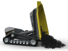 COMB dump truck has been designed to revolutionize construction industry with its modern design and high tech system.