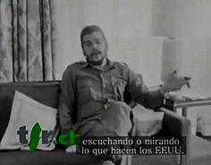 """La televisión cubana difundió una entrevista hasta ahora inédita con el legendario revolucionario argentino-cubano Ernesto """"Che"""" Guevara cvcv"""