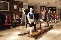 Saturdays Surf NYC Pop up store, Hong Kong store design
