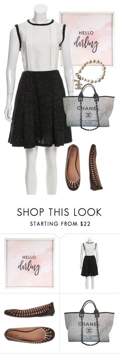 """bag"" by masayuki4499 ❤ liked on Polyvore featuring Hello Darling, Chanel and Alaïa"