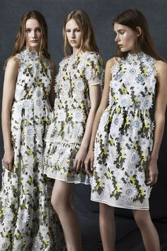 What's your favorite look from Erdem's newest collection? See them all on Vogue.com