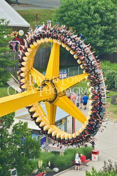 Kings Island Amusement Park Photos by David Long CincyPhotography Scary Roller Coasters, Crazy Roller Coaster, Coney Island, Kings Island, Amusement Park Rides, Carnival Rides, Cedar Point, Summer Fun, Disneyland