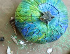 Make a Mermaid Pumpk
