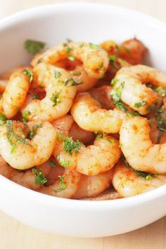 Weight Watchers Spicy Baked Shrimp Recipe - Done in 15 Minutes!