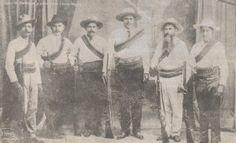 Juan M. Banderas y su estado mayor, efémerides 25 noviembre