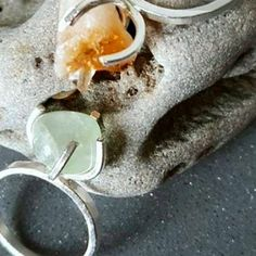 Natural Candy, Handmade Silver, Handmade Jewelry, Candy Crystals, Aesthetic Rings, Silver Bands, Unique Rings, Mumbai, Bridal Jewelry