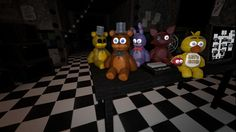Steam Workshop :: Five Nights At Freddy's - Plushies