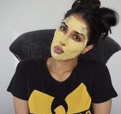 """""""This is one of the first masks that my grandmother and mom ever showed me, so it holds a special place in my heart,"""" Dhukai said. """"People stop me in the street just to tell me how this has helped them so much with their acne, which means a lot to me."""" The ingredients include: chickpea flour, turmeric powder, almond oil, and yogurt. Pro tip: Due to its naturally bright color, turmeric can stain fair skin tones. Remember that a little bit goes a long way and swipe some makeup remover over…"""