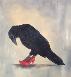 MAGIC | BLACKraven | REDShoes | illustration | MAGISCH |  pinned by http://www.cupkes.com/