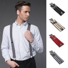 Check out the newest style for men in 2017!   http://www.placeforwinners.com/products/classic-solid-color-suspenders?utm_campaign=social_autopilot&utm_source=pin&utm_medium=pin