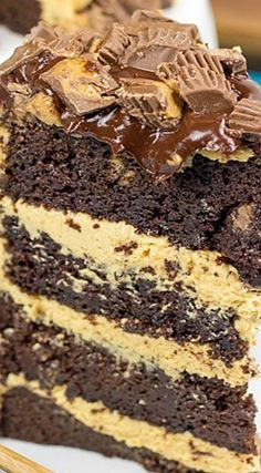 Reese's Chocolate Peanut Butter Cake