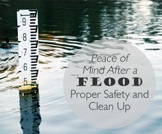 When dealing with floods, the safest bet is to be proactive. Know how to properly deal with floods to help prevent further damage to property and facilities. Cleaning up correctly the first time is the best way to have peace of mind after a flood.