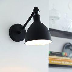 Vägglampa By Rydéns Bazar Mini - - Bygghemma. Black Wall Lights, Ceiling Lights, Mini, Spotlights, Home Decor Kitchen, Modern Lighting, Scandinavian Design, Sconces, Pedestal