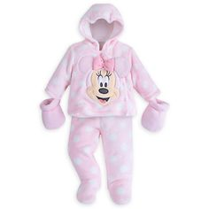 Minnie Mouse Snugglesuit Set for Baby