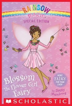 """Read """"Blossom the Flower Girl Fairy (Rainbow Magic: Special Edition)"""" by Daisy Meadows available from Rakuten Kobo. Here comes the bride! Rachel's Aunt Angela is a talented wedding planner. She's organizing the biggest wedding Tippingto. Rainbow Magic Fairy Books, Bear Wallpaper, Book Images, Book Fandoms, Here Comes The Bride, Jack Frost, Book Lovers, Fairy Tales, Daisy"""