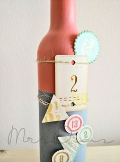 Mad Scrap Project Mad, Scrap, Bottle, Projects, Blog, Home Decor, Paper Envelopes, Log Projects, Homemade Home Decor