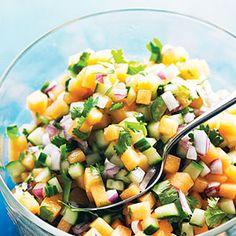 Melon Salsa | MyRecipes.com