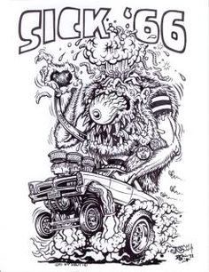 johnny ace studios | RAT FINK ART COLLECTION ED ROTH JOHNNY ACE ROTH STUDIOS ARTWORK on ...