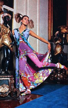 Emilio Pucci designs, TIQ (Dutch) November 1966